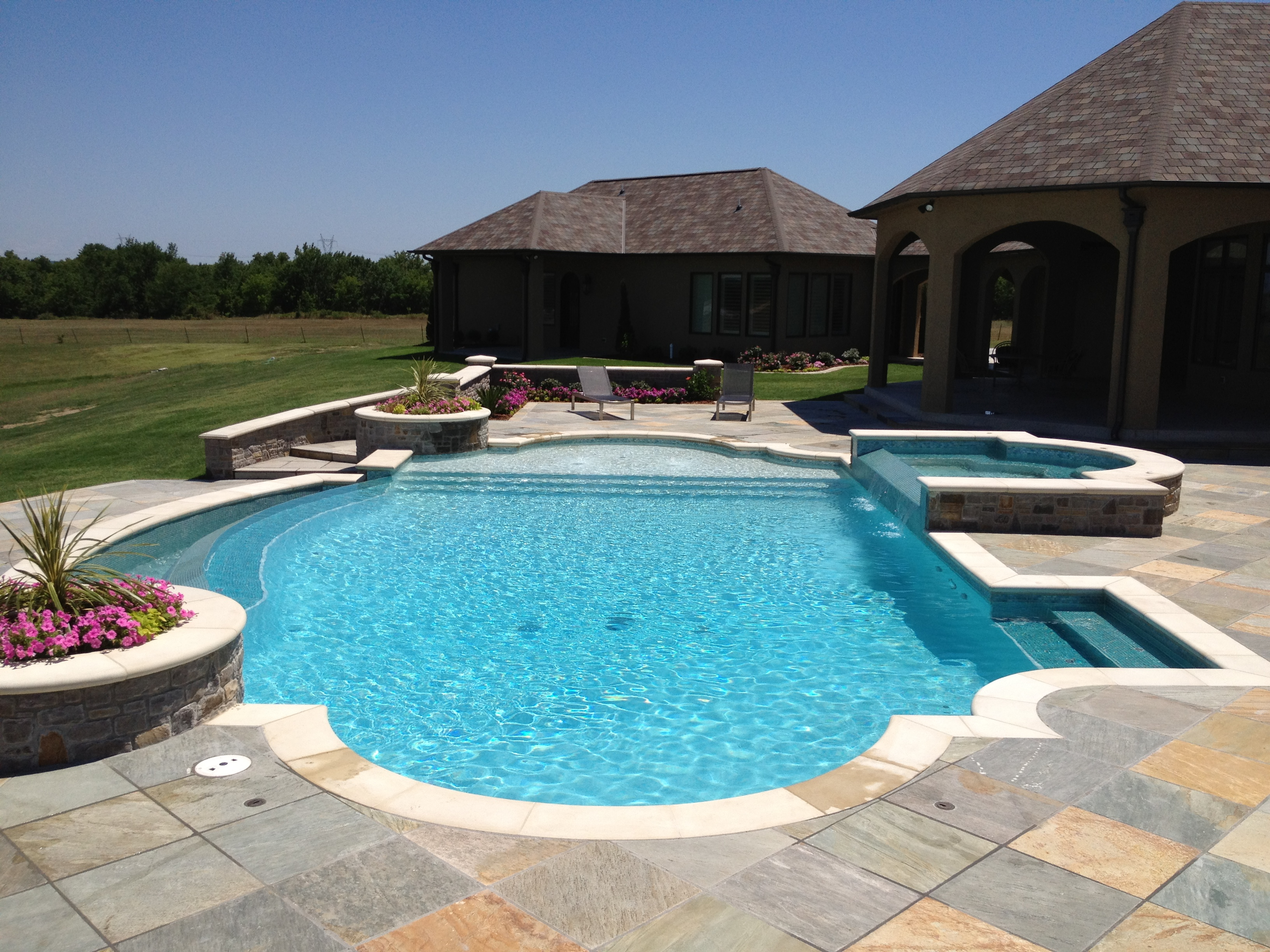 Tulsa in ground swimming pool builders and contractors - Swimming pool contractors oklahoma city ...